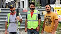 İnşaat malzemeleriyle defile yapan işçilere oyunculuk teklifleri yağıyor