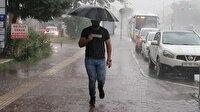 Sıcaklıklar düşüyor: Çok sayıda il için sağanak yağış uyarısı!