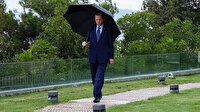 Cumhurbaşkanı Erdoğan paylaştı: Yağmurlu bir İstanbul hafta sonunda mesaiye devam