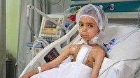 Grip şikayetiyle gitti, kalp hastası olduğu öğrenildi: Yedi yaşındaki Ramazan, yapay kalple hayata tutundu