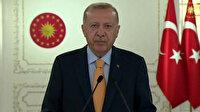 Cumhurbaşkanı Erdoğan BM Genel Kurulu'na hitap etti: Israrla dile getirdiğim 'Dünya beşten büyüktür' tezinin haklılığını bir kez daha görmüş olduk