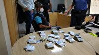 Alkışlanacak hareket: Para dolu bulduğu poşeti polise teslim etti