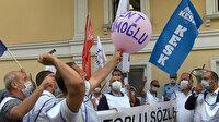 Başkan Bülent Kerimoğlu, Bakırköy Belediyesi çalışanlarının protestolarına sessiz
