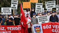 Taksiciler ve servisçiler İBB yönetimini protesto etti: Mağdur esnaf için ne yaptın?