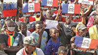 Mali'de Fransa'ya isyan