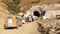 Kop Dağı Tüneli inşaatında patlama: 8 işçi yaralandı