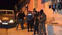 Bıçak ve silahlarla birbirine girdiler mahalle savaş alanına döndü