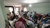 Bursa'da bir evden 10 kamyon eşya çıktı: Atmaya kıyamamış