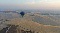 'Tarihin sıfır noktası' olan Göbeklitepe'de sıcak hava balonuyla ilk uçuş gerçekleştirildi