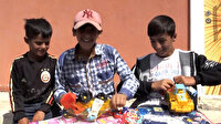 Köy çocuklarını oyuncaklarla sevindirmek için İstanbul'dan Ağrı'ya geldiler