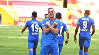 Erzurumspor yeni transferiyle deplasmanda coştu
