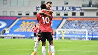 Premier Lig'de tarihi maç: Manchester United VAR'dan döndü (ÖZET)