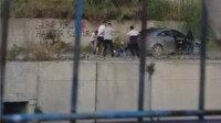 İstanbul'da dehşet anları: Dövüp yedi metre yükseklikten aşağıya attılar