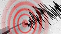 Ege Denizi'nde 5,3 şiddetinde deprem oldu