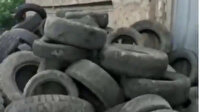 Ermenistan güçleri Bayraktar İHA'nın görüntü almasını engellemek için lastik topluyor