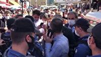 HDP'li vekilden polise hakaret: Terbiyesiz, sicilini ver bana