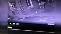 Kayınvalidesinin evini yakmaya çalışan damat kamerada