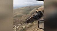 Ermeni işgalinden kurtarılan Dağlık Karabağ bölgesinden ilk görüntüler