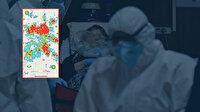 Koronavirüs salgınında son durum: İl il yoğunluk haritası