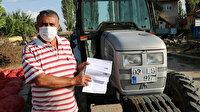 Afyonkarahisarlı vatandaşa geçmediği otoyoldan traktörüne ceza geldi
