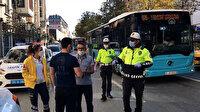 Karantinada olması gereken Özel Halk Otobüsü şoförü direksiyon başında ekiplere yakalandı