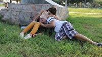 'Bize bir şey koklattılar' diyerek şikayetçi olmuşlardı: Parkta uyuya kalan çifti soyanlar yakalandı