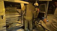 Silivri'de panelvanda çıkan yangını vatandaşlar söndürdü