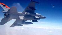 Hedefler tam isabetle vuruldu: Teber güdüm kitli bombalar düşmana korku salıyor