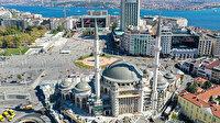 Taksim Camii'nde sona doğru: Yüzde 80'i tamamlandı
