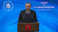 Fransa Cumhurbaşkanı Macron'un 'İslam krizde' açıklamasına Cumhurbaşkanı Erdoğan'dan tepki: Hadsizlik, edepsizlik