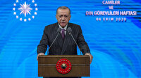 Cumhurbaşkanı Erdoğan'dan Doğu Akdeniz sinyali: Güzel haberler almayı ümit ediyoruz