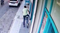 Beş bisikleti böyle çaldı yakalanıp tutuklandı