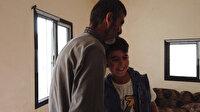 Suriyeli Hüseyin artık çadırda değil duvarları ve çatısı olan bir evde yaşayacak