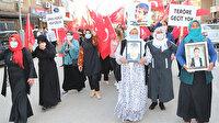 Şırnaklılar HDP İl Başkanlığı önünde eylem yaptı: Kahrolsun PKK, kahrolsun HDP