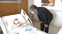 Sağlık Bakanı Fahrettin Koca Adana Şehir Hastanesi'nde hastaları ziyaret etti
