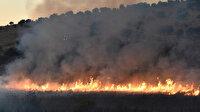İsrail'in Lübnan sınırı yakınlarında büyük yangın: İki köy boşaltıldı