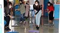 Van'da fedakar öğretmenler, öğrencileri için hazırlık yapıyor