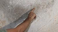 Karaman'da mağara duvarında 1700 yıllık 'hatıra yazıları' tespit edildi