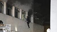 Ankara'da hastanede korkutan yangın: Bir hasta yatağını ateşe verdi