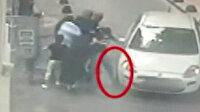 Üzerine araç sürdükleri vatandaşları soyan yankesiciler yakalandı