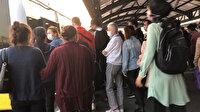 İstanbul'da sosyal mesafe unutuldu: Duraklar ve metrobüsler insan akınına uğradı