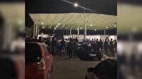 KKTC'ye girmeye kalkan Rumlara Mehter Marşı dinletildi