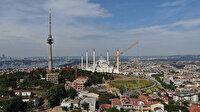 İstanbul'un silüeti değişecek: Çamlıca'da 40 yıldır hizmet veren TRT verici kulesinin sökümüne de başlandı