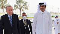 Katar Emiri Temim'den Macron'a cevap: Erdoğan benim babamdır