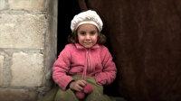 İdlib'de yapılan 20 bin briket ev savaş mağduru çocukların yüzünü güldürdü