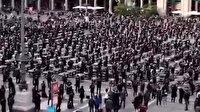 İtalya'da krizdeki organizasyon şirketleri hükümeti protesto etti