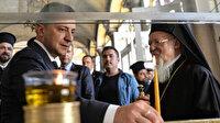 Ukrayna Devlet Başkanı Zelenskiy, Fener Rum Patriği Bartholomeos ile İstanbul'da görüştü