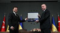 """Cumhurbaşkanı Erdoğan'a """"Ukrayna Devlet Nişanı"""" verildi"""
