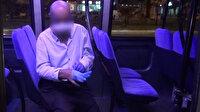Bu kadarına da pes: Korona hastası hastaneden kaçtı minibüste yakalandı