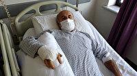 Duvar örerken kırılan parmağı kangren oldu: Kesilen parmağı nedeniyle 'ihmal' soruşturması açıldı